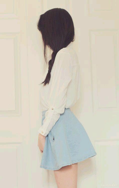 เสื้อผ้าสีฟ้า
