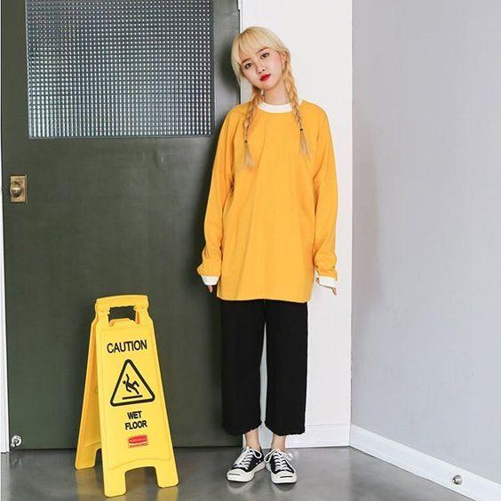 เสื้อผ้าสีเหลือง
