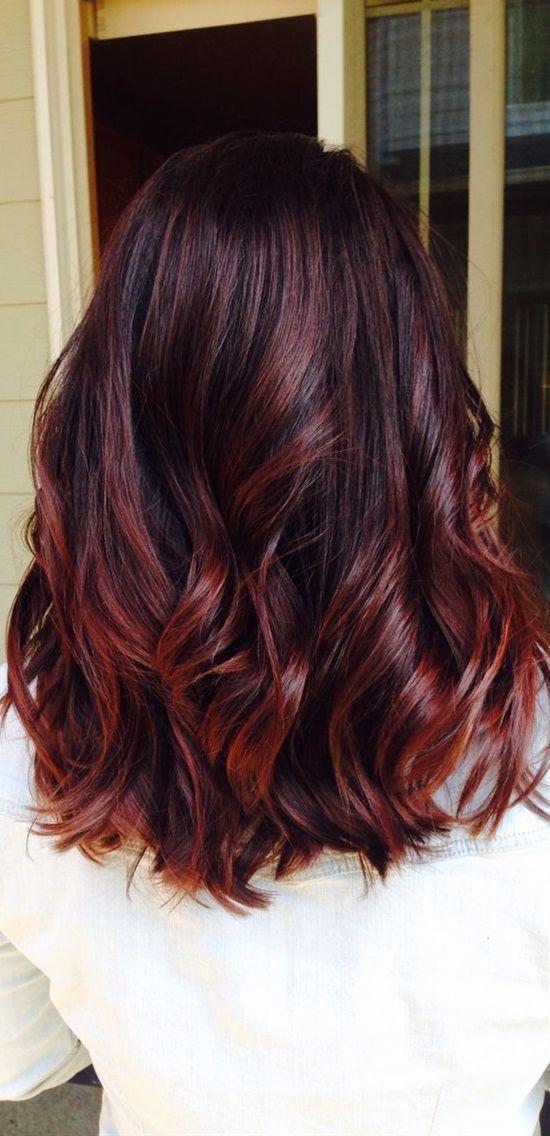 สีผมมะฮอกกานี