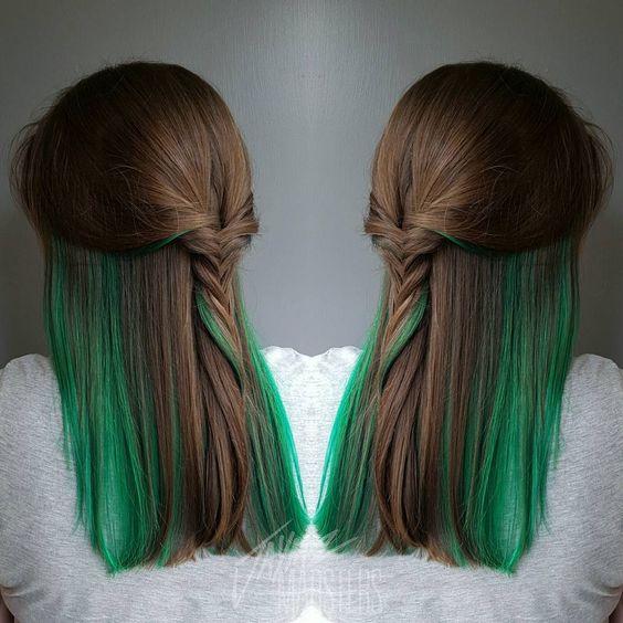ผมสีเขียว
